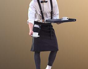 Dan 10488 - Working Waiter 3D asset