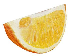 Orange slice 3 3D model