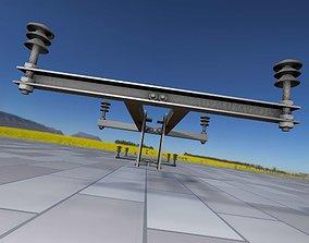 Electricity Poles Insulators 4 - Object 106 3D asset