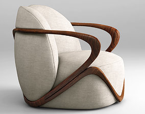 expensive 3D Giorgetti Hug armchair