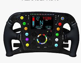 3D asset RS16 Steering Wheel