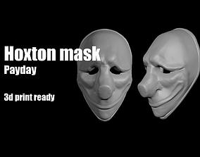 3D print model Hoxton Payday mask helmet