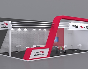 3D model Exhibition Stand Booth 10x6m store