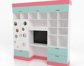3D Wardrobe kids-furniture