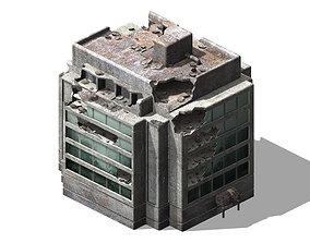 3D model The future world - street waste 05