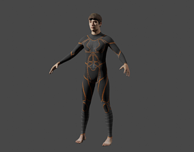 3D model Special man