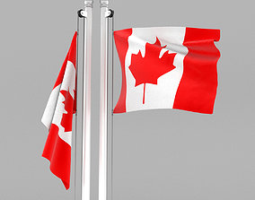 3D model other Flag of Canada