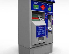 3D Bus Ticket Machine