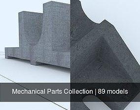 3D model Mechanical Parts Collection