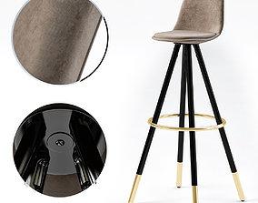 Stag armchair 3D