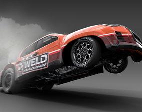 3D model Allnew Dmax 2020 dragster space frame