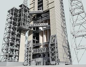 3D model Delta IV Heavy Rocket