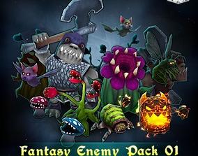 Fantasy Enemy Pack 3D asset