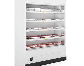 Refrigerator 3D model storage