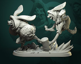 Diorama Give me the Eggs 3D print model