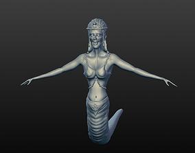 Lamia 3d sculpt