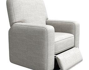 3D Best Chairs Bilana Swivel Glider Recliner