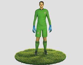 3D model Manuel Neuer goalkeeper football player