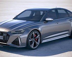 3D model Audi RS6 Sedan 2020