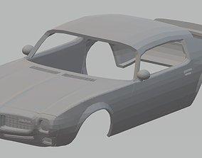 Firebird 1970 Printable Body Car