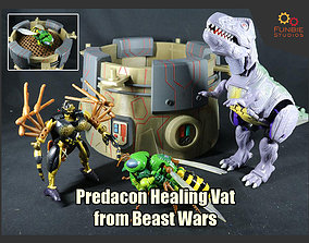 3D print model Predacon Healing Vat from Transformers 1