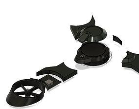 Tri rotor 3D print model
