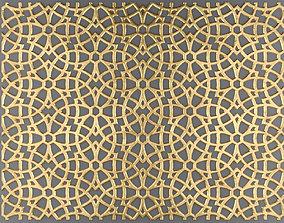 Lattice Arab panel 3D 1