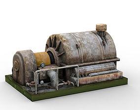 3D model industrial turbocharger