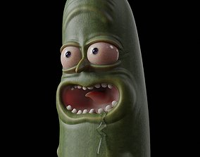 character Pickle Rick - 3D Print Model