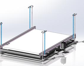 Large lifting mechanism 3D model