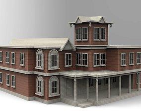 House 3D architecture