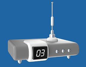 3D model Cartoony electronic device
