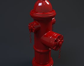 industrial Fire Hydrant 3D model
