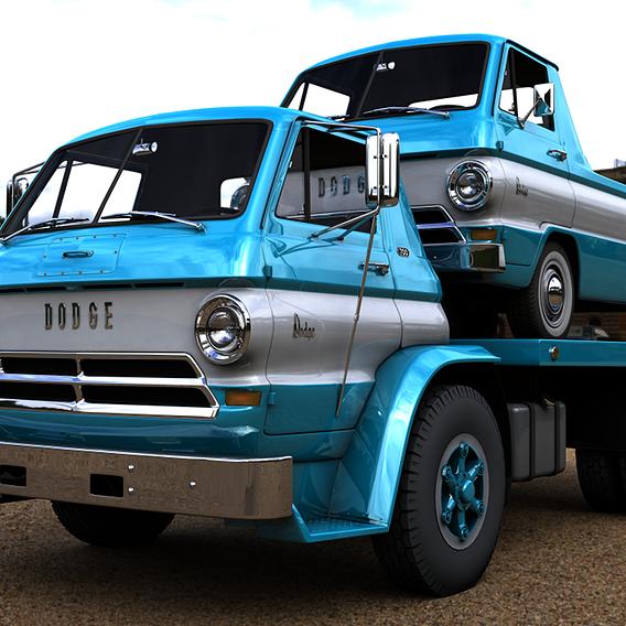 DODGE L700 TRUCK 1966