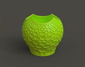 Pretty vase 3D print model decorative