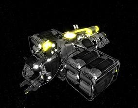 3D asset Kings - Cargo Ship - Updated