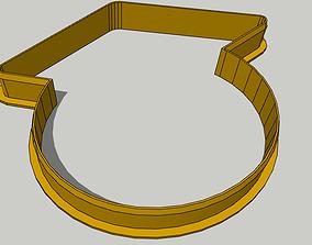 3D printable model Graduate Cookie Cutter