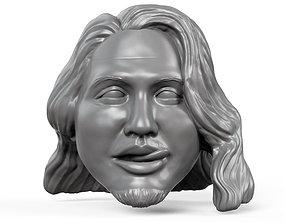 Kiromi Hatakashi 3D printable action figure head