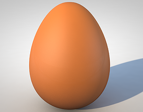 3D model Chicken Egg