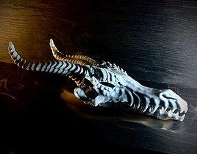 3D printable model Dragon Skull - Pre-supported STL