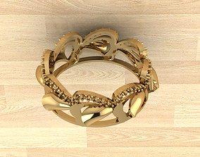 Engagment Ring 5 3D printable model