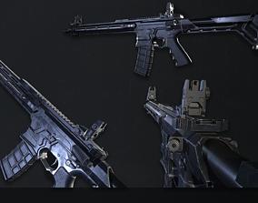 AR15 custom 3D model