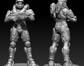 Master Chief Halo model 3D for printing games