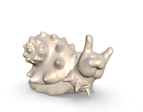 3D printable model Snail Rock Hand
