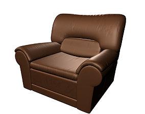 3D model arm-chair arm chair