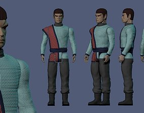 Valdore Romulan Star Trek Brian Thompson 3D print model