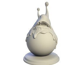 Desktop figure Mr Slime 3D print model