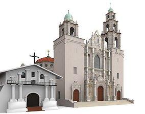 Mission San Francisco Asis 3D model