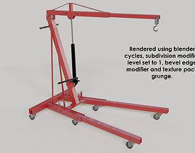 3D model workshop-enging hoist