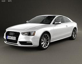 3D model Audi A5 8T3 coupe 2012